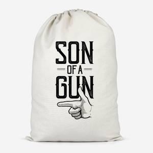 Son Of A Gun Cotton Storage Bag