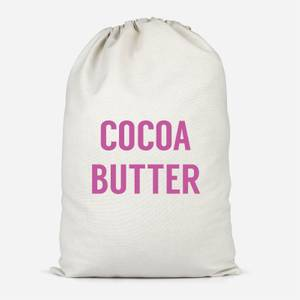 Cocoa Butter Cotton Storage Bag