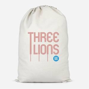 Three Lions Cotton Storage Bag