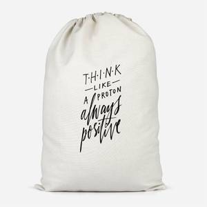 Think Like A Proton Cotton Storage Bag