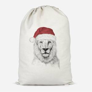Santa Lion Cotton Storage Bag