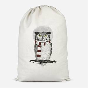 Owl And Moon Cotton Storage Bag