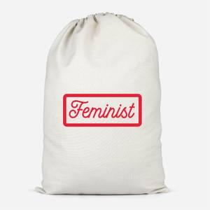 Feminist Cotton Storage Bag