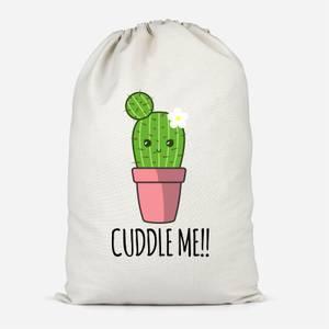 Cuddle Me Cactus Cotton Storage Bag