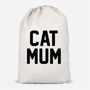 Cat Mum Cotton Storage Bag