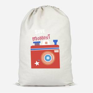 Save The Moment Cotton Storage Bag
