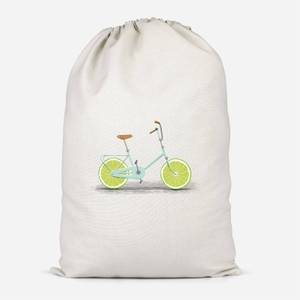 Citrus Lime Cotton Storage Bag
