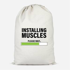Installing Muscles Cotton Storage Bag