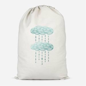 Rainy Days Cotton Storage Bag