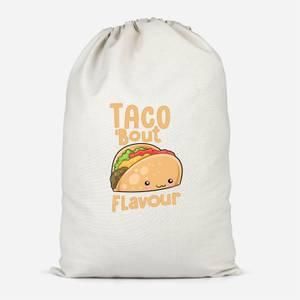 Taco 'Bout Flavour Cotton Storage Bag