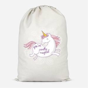 You Are Pretty Magical Unicorn Cotton Storage Bag