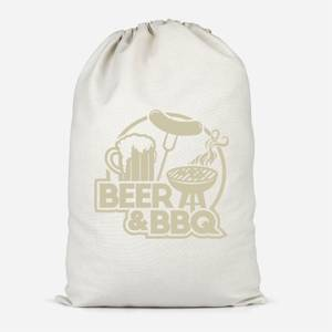 Beer & BBQ Cotton Storage Bag
