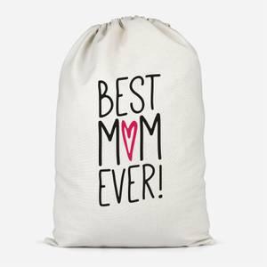 Best Mum Ever Cotton Storage Bag