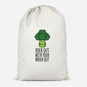 Rock Out With Your Brock Out Cotton Storage Bag