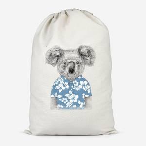 Koala Bear Cotton Storage Bag