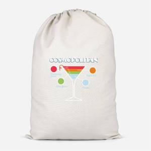 Infographic Cosmopolitan Cotton Storage Bag