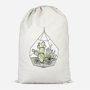 Succulent Terrarium Cotton Storage Bag