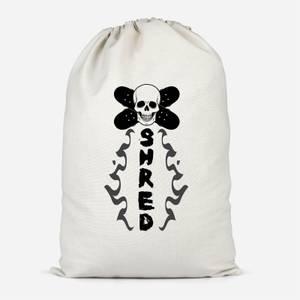 Shred Skateboards Cotton Storage Bag