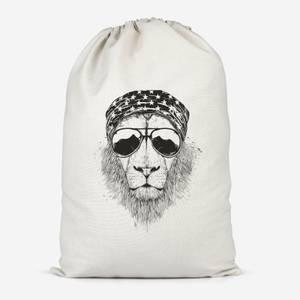 Bandana Lion Cotton Storage Bag