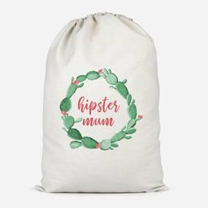 Hipster Mum Cotton Storage Bag