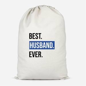 Best Husband Ever Cotton Storage Bag