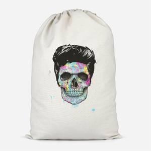 Colourful Skull Cotton Storage Bag