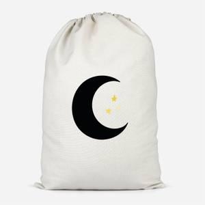 Moon & Stars Cotton Storage Bag