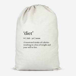 Dictionary Diet Cotton Storage Bag