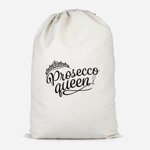 Prosecco Queen Cotton Storage Bag