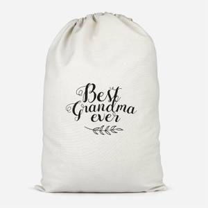 Best Grandma Ever Cotton Storage Bag