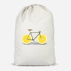 Citrus Lemon Cotton Storage Bag