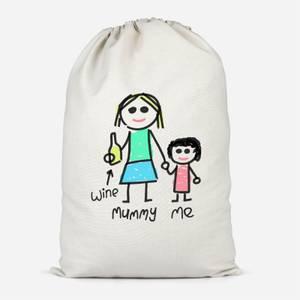 Mummy & Me Cotton Storage Bag