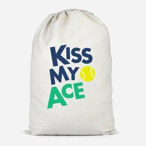 Kiss My Ace Cotton Storage Bag