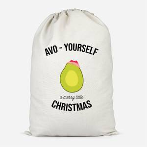 Avo-Yourself A Merry Little Christmas Cotton Storage Bag