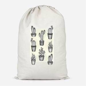 Prickly Friends Cotton Storage Bag
