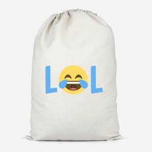 Laugh Out Loud Cotton Storage Bag