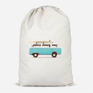 Blue Van Cotton Storage Bag