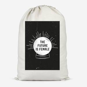 The Future Is Female Cotton Storage Bag