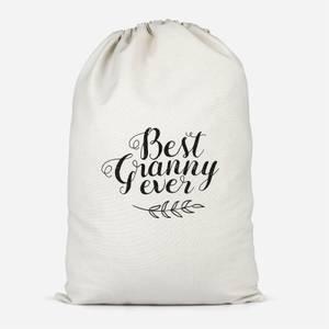 Best Granny Ever Cotton Storage Bag