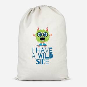I Have A Wild Side Cotton Storage Bag