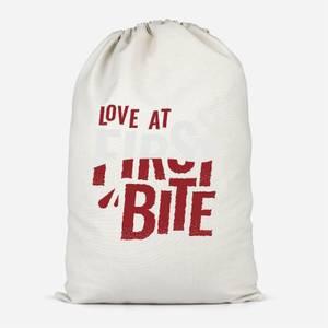 Love At First Bite Cotton Storage Bag