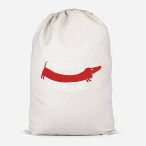 Silly Sausage Cotton Storage Bag