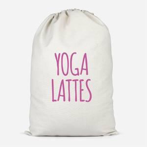 Yoga Lattes Cotton Storage Bag