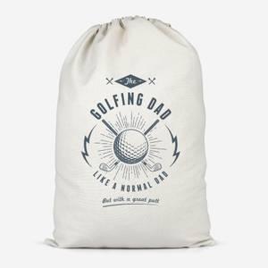 Golfing Dad Cotton Storage Bag