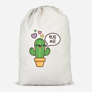 Hug Me Cactus Cotton Storage Bag