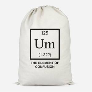 The Element Of Confusion Cotton Storage Bag