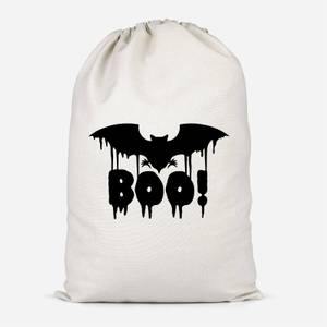 Boo Bat Cotton Storage Bag
