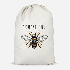 You're The Bees Knees Cotton Storage Bag