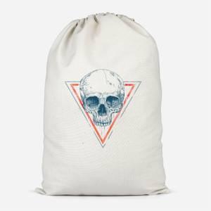 Skull Cotton Storage Bag