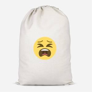Tantrum Face Cotton Storage Bag